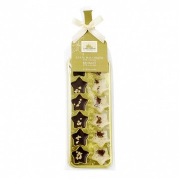 Lauensteiner Mini-Schokoladen - Stern-Nips