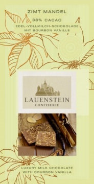 Lauensteiner Tafelschokolade Zimt-Mandel
