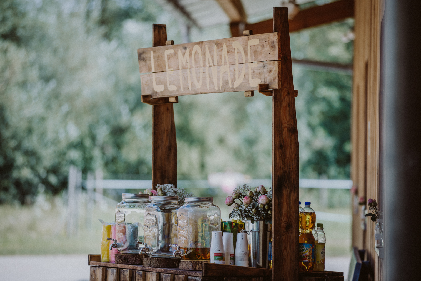 Wedding Lemonade Bar