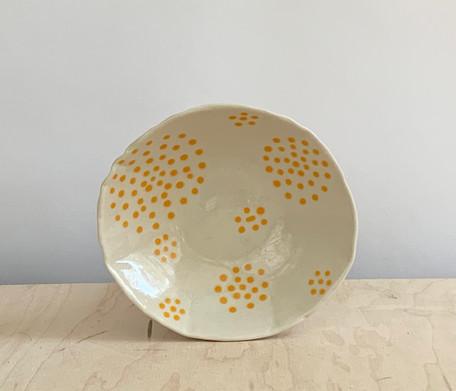 Circle Dots, Yellow