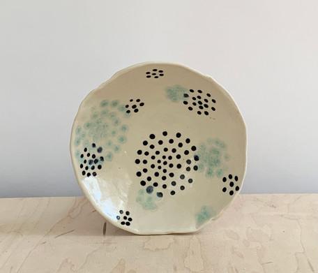 Circle Dots, Sea Spray & Black