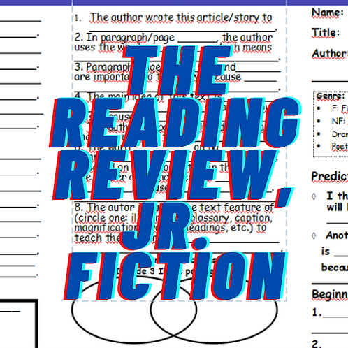 The Reading Review, Jr. for Fiction, Grades 2-4