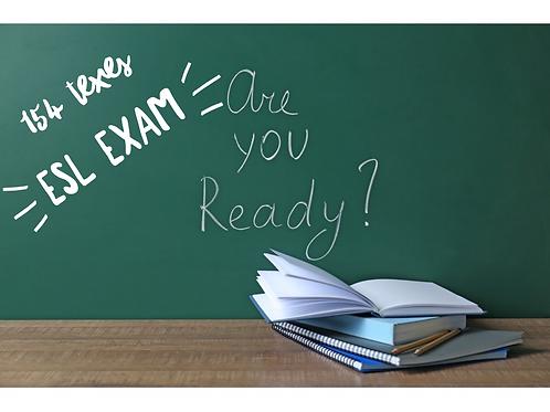 ESL 154 District Test Preparation Course-District
