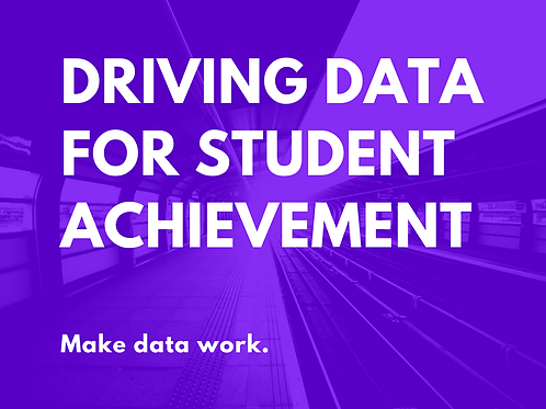 ESL and Dual Language: Driving Data for Student Achievement