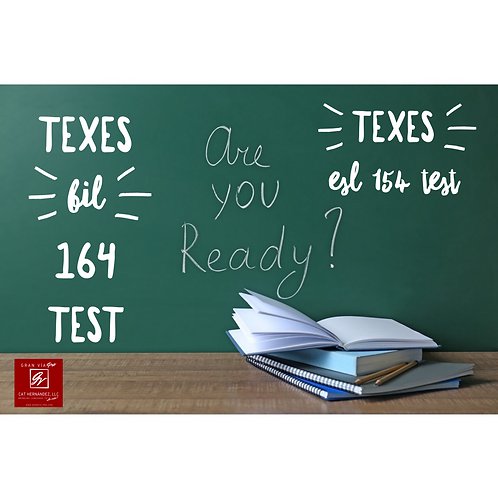 TEXES BIL 164 ESL 154 UNPACKING THE TEXES Question Analysis Course Add-On