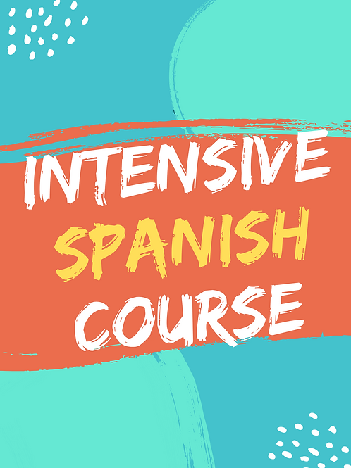 Spanish 8 Week Intensive Course Beg/Int