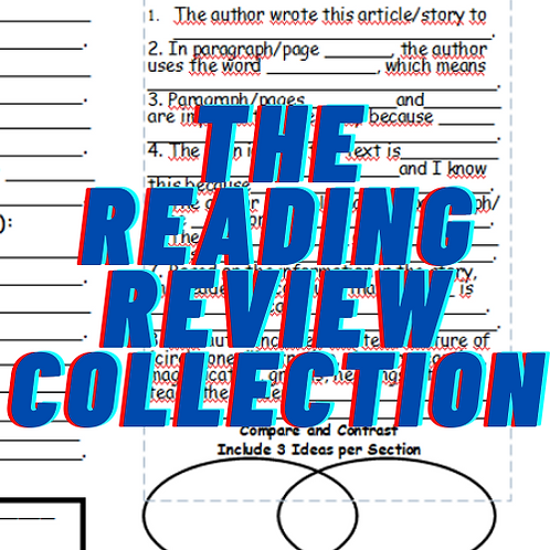 District PD: Reading Comprehension with The Reading Review/El repaso de lectura