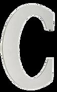 Стальная буква С