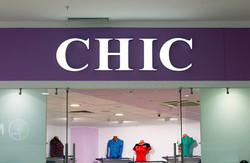 Вывеска для магазина Chic