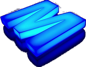 Пластиковая объемная буква М