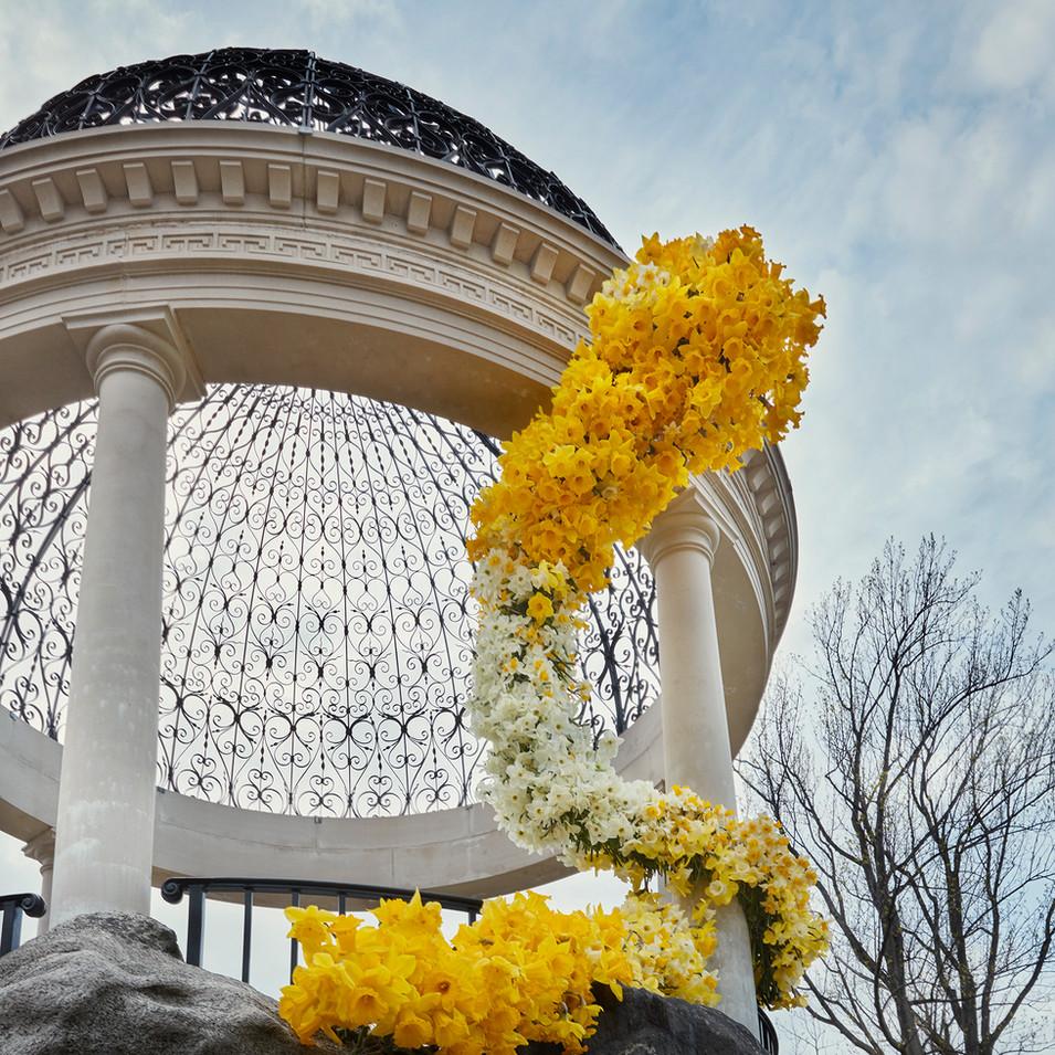 Untermeyer Gardens Asclepius photographed by Ngoc Minh Ngo