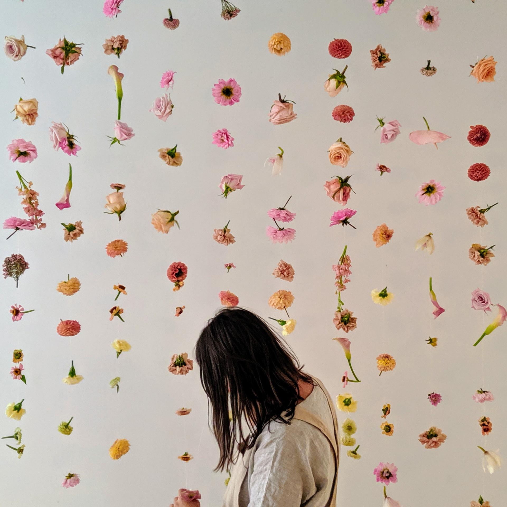 Flower Garland Curtain