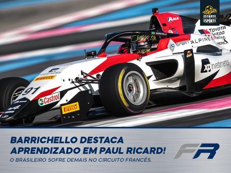 Barrichello destaca aprendizado em Paul Ricard