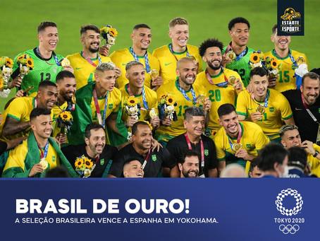 BRASIL É BICAMPEÃO OLÍMPICO