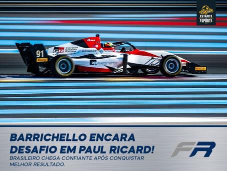 Eduardo Barrichello encara desafio em Paul Ricard