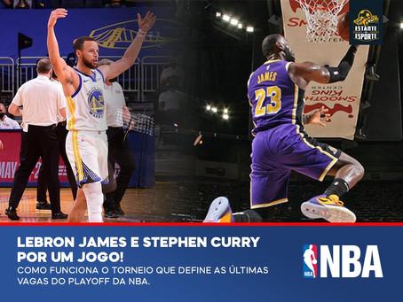 LeBron James e Stephen Curry POR UM JOGO