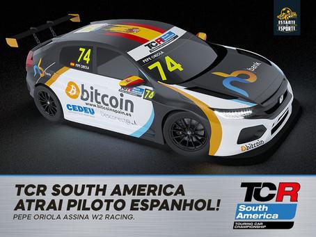 W2 RACING CONTRATA PILOTO ESPANHOL