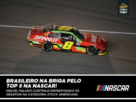 Miguel Paludo volta a brigar no Top5 da NASCAR