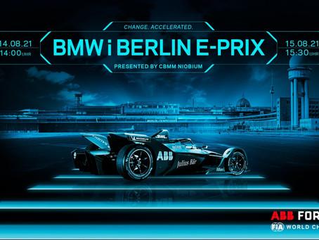 Tudo o que você precisa saber antes do BMW i Berlin E-Prix