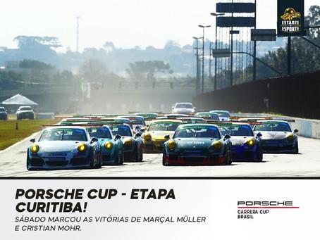 Porsche Cup tem etapa emocionante em Curitiba