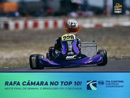 RAFA CÂMARA MAIS UMA VEZ NO TOP10