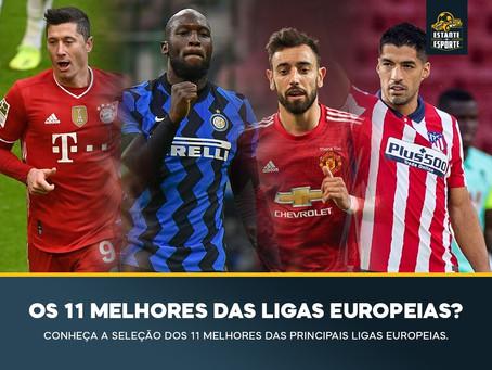 Os 11 melhores jogadores das principais ligas europeias