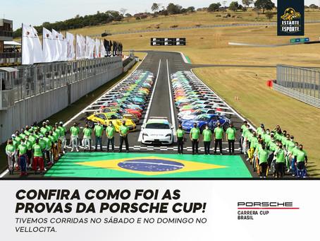 CONFIRA COMO FORAM AS PROVAS DA PORSCHE CUP