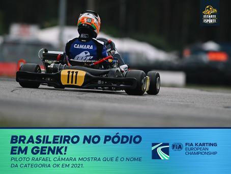 BRASILEIRO NO PÓDIO EM GENK