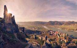 Wachau_Bluete_Duernstein_Ruine_Panorama©+Niederoesterreich+Werbung-Andreas+Hofer
