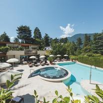 Outdoor Pool Park Hotel Mignon @Armin Te