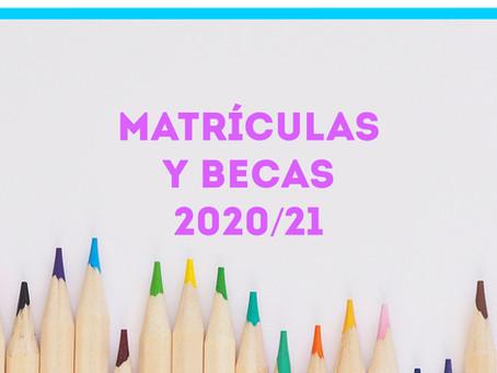 BECAS 2020/21