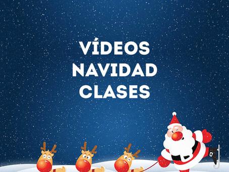 VIDEOS NAVIDAD CLASES