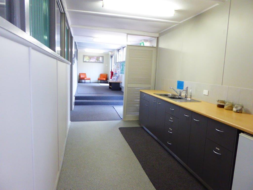 Classroom foyer