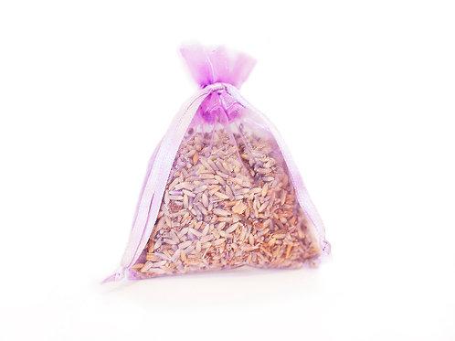 Small Organza Lavender Sachet