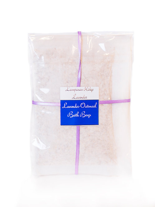 Lavender Oatmeal Bath Bag