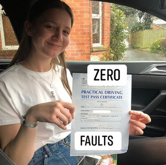 Huge congratulations to Vicky, passing h