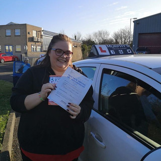 Congratulations to Leigh Anne, passing h