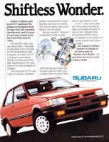 1988 . Subaru . Baird & Associates . Art Direction: Gregg Rodgers