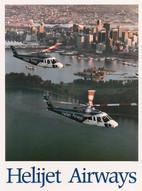 1989 . Helijet Airways . Art Direction: Bill Liddell