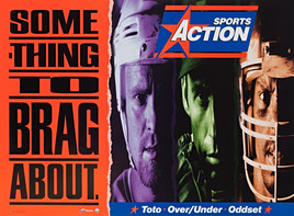 1996 . Sports action . Bryant Fulton Shee . Art Direction: Ron Bignell