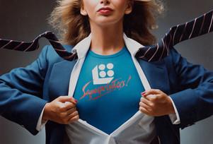 1983 . Superprinters . Art Direction: Bob Riddell