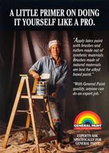1992 . General Paint . VRH Communications . Art Direction: Bill Cozens