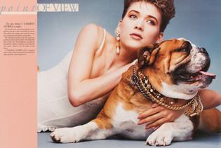 1992 . V Magazine . Art Direction: Tracy Pincott