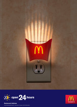 2010 . McDonalds . Cosette . Art Direction: Bart Bachelor