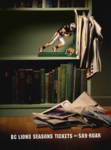 2004 . BC Lions . Rethink . Art Direction: Ian Grais