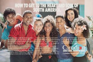 1988 . Canadian Airlines . McKim Advertising . Art Direction: Bill Cozens