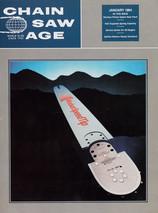 1984 . Chain Saw Age . Pearson Advertising . Art Direction: Hans Sipma/Jim Pearson