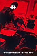 1997. Crime Stoppers . Palmer Jarvis Communications . Art Direction: Ian Grais
