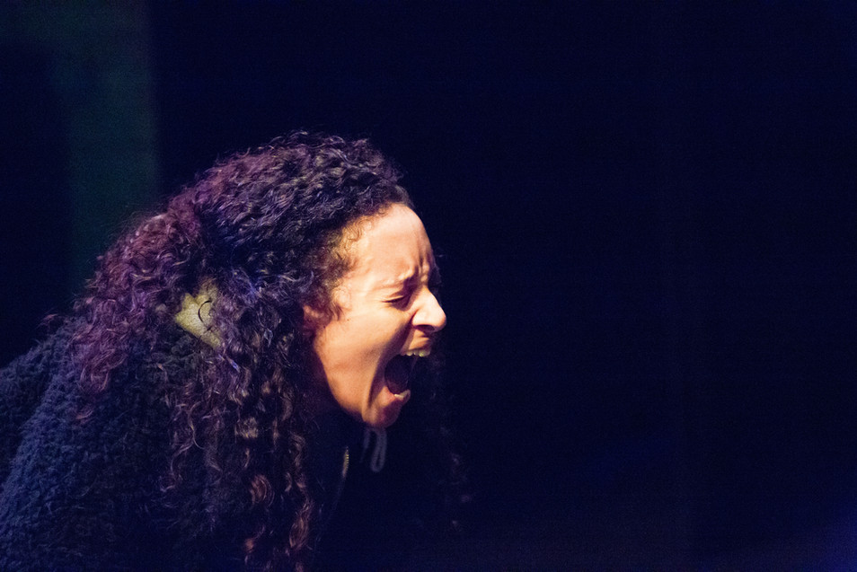 Aimee Powell (Salma) in Night Light, Man