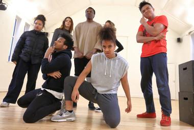 Antigone - Mandala Young Company; Photo